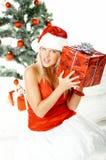 1 όμορφα Χριστούγεννα Στοκ Εικόνες