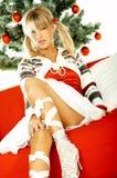 1 όμορφα Χριστούγεννα Στοκ Εικόνα