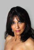 1 όμορφη ώριμη γυναίκα headshot Στοκ φωτογραφία με δικαίωμα ελεύθερης χρήσης