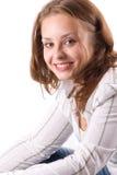 1 όμορφο χαμόγελο κοριτσ&iot Στοκ Εικόνες