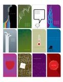 1 όνομα 3 καρτών Στοκ φωτογραφίες με δικαίωμα ελεύθερης χρήσης