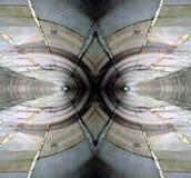 1 абстрактная стена отражения Стоковые Фотографии RF