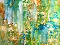1 абстрактная цветастая акварель Стоковые Изображения