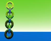1 абстрактная цепь Стоковое Фото
