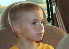 1 автомобиль мальчика Стоковая Фотография RF