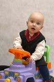 1 автомобиль мальчика Стоковое Изображение RF