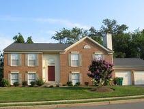 1 американский дом Стоковые Изображения RF