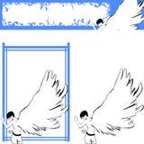 1 ангел Стоковые Фото