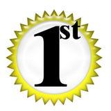 1-ая ранг Стоковое фото RF