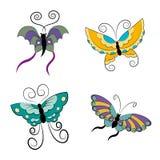 1 бабочка 4 Стоковые Изображения RF