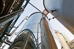 1 бак трубопровода фермы Стоковая Фотография RF