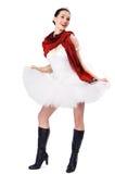 1 балетная пачка девушки Стоковое Изображение RF