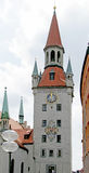 1 башня часов старая Стоковые Изображения