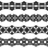 1 безшовное границ горизонтальное Стоковые Фотографии RF