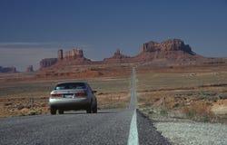 1 бесконечная дорога Стоковые Фотографии RF