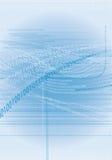 1 бинарный Код Стоковая Фотография