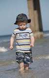 1 бомж пляжа Стоковые Фотографии RF