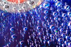 1 вода cd падения диска лежа Стоковое Изображение RF