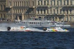 1 вода gp России формулы Стоковое Изображение