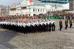 1 военный парад Стоковое Фото