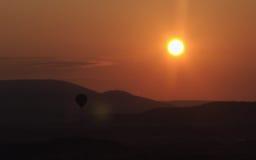 1 восход солнца luberon Стоковая Фотография