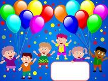 1 время партии малышей Стоковая Фотография