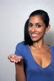 1 выдвинутая передняя модель руки multiracial Стоковое Фото