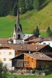 1 высокогорная итальянка отсутствие села Стоковая Фотография RF
