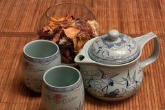 1 высушенный чай лепестков Стоковые Изображения