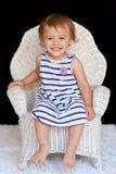 1 год девушки стула многокультурный старый сь Стоковые Фотографии RF