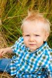 1 год мальчика старый Стоковое Фото