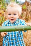 1 год мальчика старый Стоковая Фотография