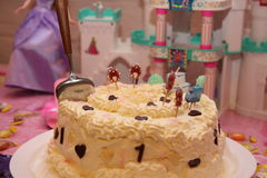 1 год партии s дня рождения младенца старый Стоковая Фотография RF