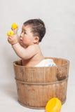 1 год с рождения мальчик Стоковое Изображение