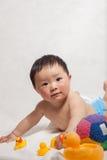 1 год с рождения мальчик Стоковая Фотография RF