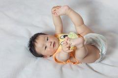 1 год с рождения мальчик Стоковые Фотографии RF