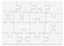 1 головоломка Стоковое Изображение RF