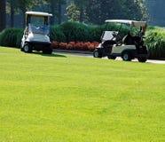1 гольф дня солнечный Стоковые Изображения