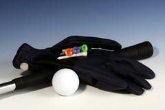 1 гольф перчатки Стоковые Изображения