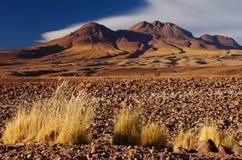 1 гора десерта Стоковое Изображение