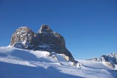 1 гора dachstein Стоковая Фотография