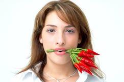 1 девушка горячая Стоковое фото RF