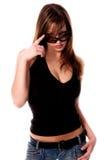 1 девушка сексуальная Стоковое Изображение RF