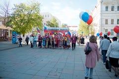 1 демонстрация дня может penza Россия Стоковое фото RF