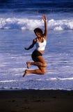 1 динамически девушка Стоковое фото RF