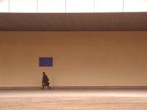 1 должностное лицо европейца комиссии Стоковое фото RF