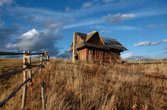 1 дом сиротливая Стоковая Фотография RF