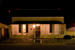 1 дом фермы плащи-накидк Стоковое Изображение