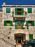 1 дом dalmatian Хорватии Стоковые Изображения
