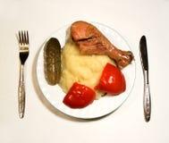 1 еда Стоковые Фотографии RF